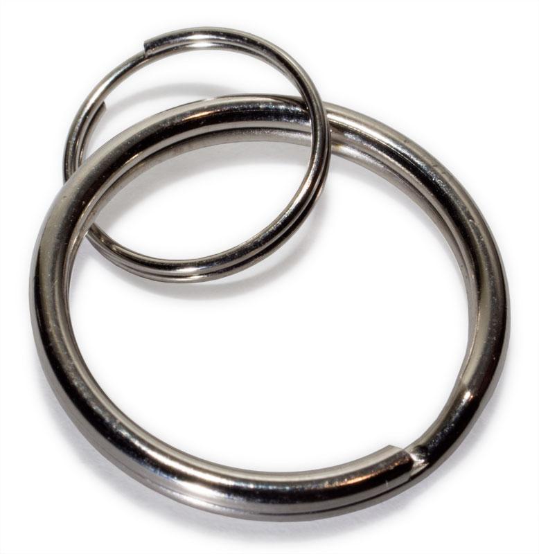 Кольцо для крепления ключей (20+10мм)