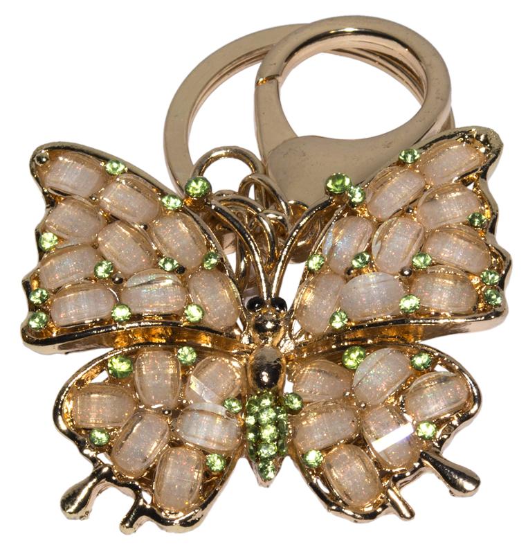"Брелок для ключей - ""бабочка"""