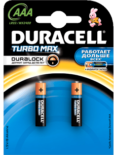 Батарейка DURACELL Turbo Max