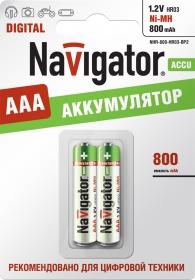 Аккумулятор Navigator AAA /800mАh/