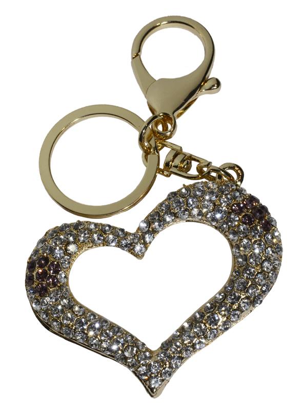 """Брелок для ключей - """"сердце"""""""